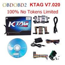 HW V7.020 V2.23 Ktag Master Version K-TAG Hardware V6.070 V2.13 K TAG 7.020 ECU Programming Tool Use Online No Token DHL Free