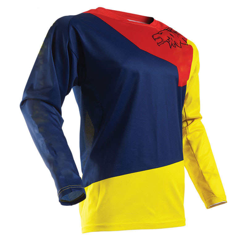 2018  Racing Men Bike long sleeve cycling Jersey DH MX RBX MTB racing clothes Off-road Motocross Jersey TR