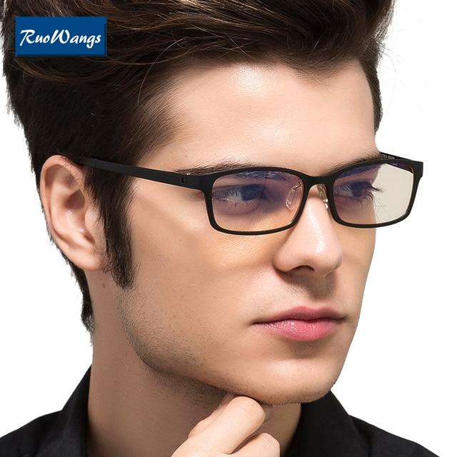 dab65d8daa RuoWangs computer eyeglasses optical frames eyeglasses frame women eye  glasses men spectacle frames eyewear clear lens