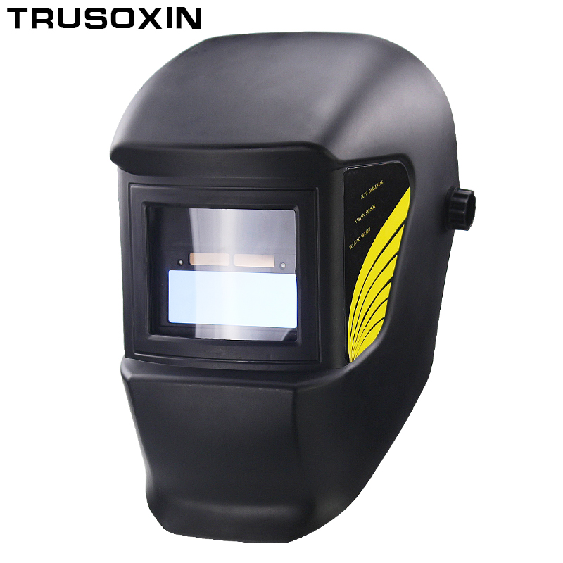 цены Light Li Battery DIN11 Solar Auto Darkening Electric Welding Mask/Helmet/Welder Cap for Welding Equipment and Plasma Cutter