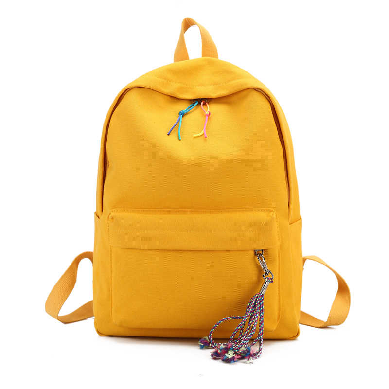 Large Capacity Backpack Women Cute School Bags for Teenagers Female Canvas Travel Shoulder Bags Girls Backpacks Back pack 2018