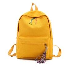 купить Large Capacity Backpack Women Cute School Bags for Teenagers Female Canvas Travel Shoulder Bags Girls Backpacks Back pack 2018 по цене 1001.19 рублей