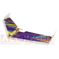 Free Shipping EPP Airplane Model Rainbow Fly Wing 1000mm Wingspan ZAGI RC PLANE EPP plane SPANSWING Delta Wing rc plane