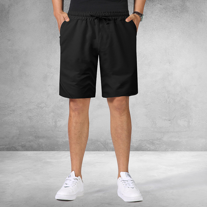 Shorts Joggers Workout Knee-Length Sporting Summer Brand Solid Loose Outwear