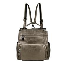 2019 New Hot Sale Fashion Women Shoulder School Backpack Travel Bag Leather Rucksack Daypack цена в Москве и Питере