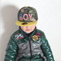 2016Hot Sale New Spring Summer Baby 3D Letter BOY cap boy Adjustable Baseball Cap 3-8 Years Kids Snapback Hip-Hop Hats Sun Hat