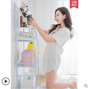 Image 2 - Boden bad rack wand hängen bad wc waschmaschine toilette wc wc sitz wc rack behälter rack