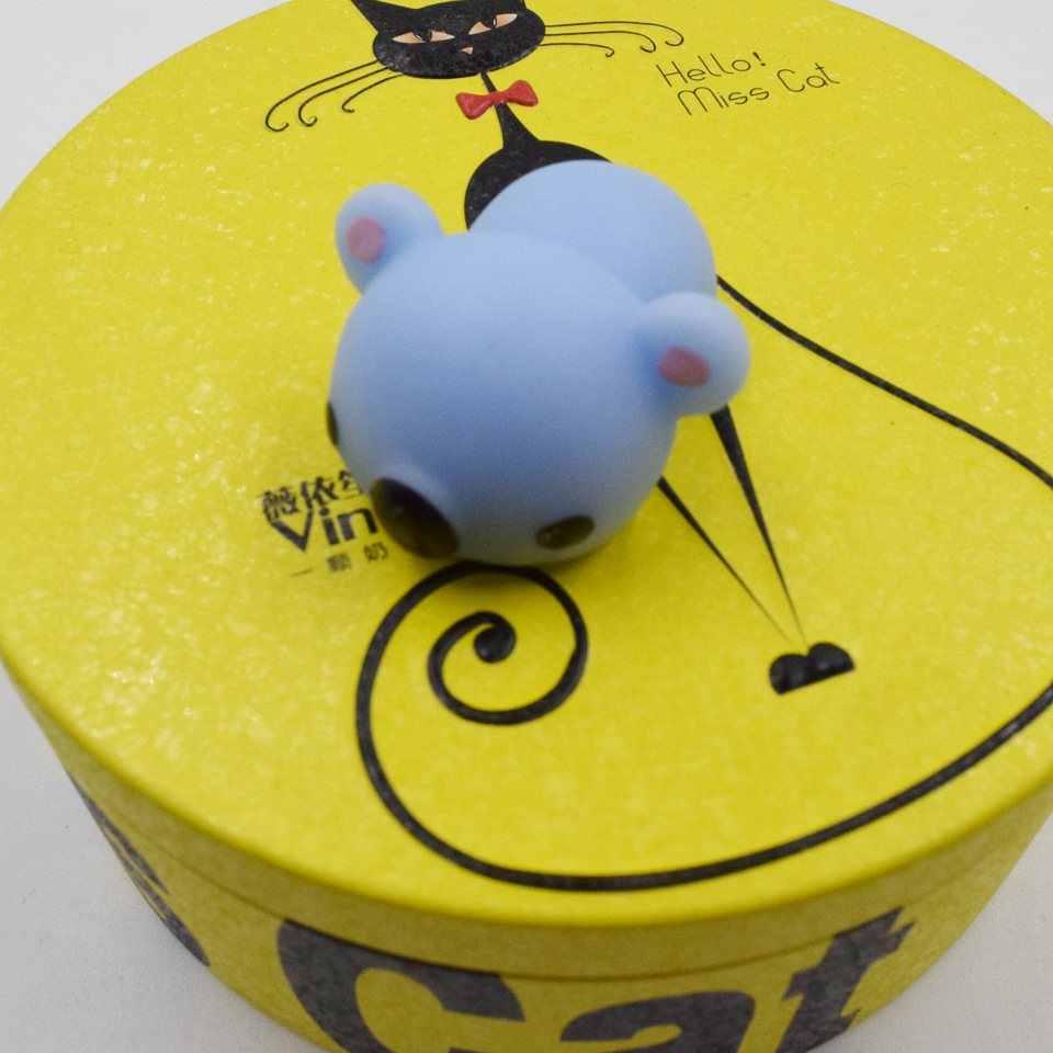 Macio novo mundo animal mole lento rebote dos desenhos animados mini brinquedos de espuma do plutônio cor bonito dos desenhos animados série animal engraçado brinquedos presentes-nnl001