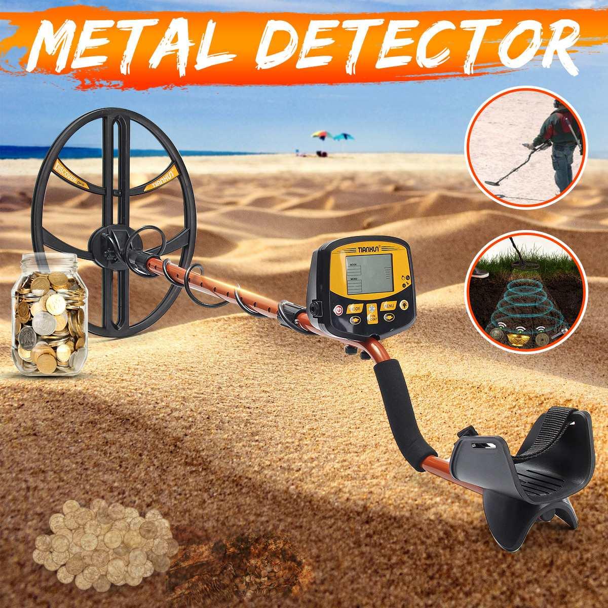 Détecteur souterrain professionnel d'or d'argent de sensibilité élevée de détecteur de métal de TX-950 avec l'affichage commutable d'affichage à cristaux liquides de contre-jour