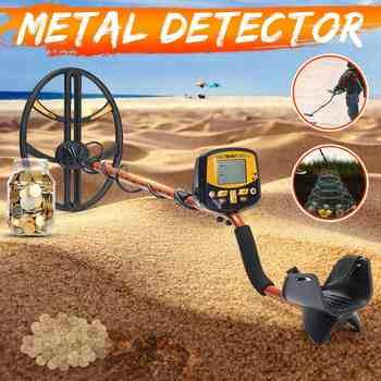 TX-950 Professionale Metropolitana Metal Detector Ad Alta Sensibilità Oro Argento Detector con Commutabile Retroilluminazione del Display LCD