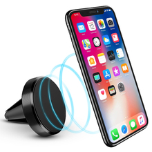 Magnetic Car Bracket Phone Holder For iPhone X Magnet Mini Air Vent Outlet Car-Styling Phone Mount Stand Holder For Phone In Car стоимость