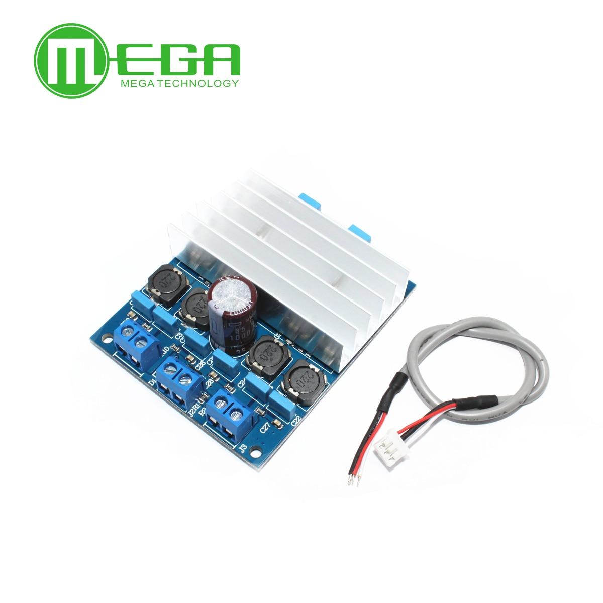 Оптовая продажа 5 шт. TDA7492 Высокая Порошковая плата цифрового усилителя 50 Вт * 2/100 Вт может параллельный мост