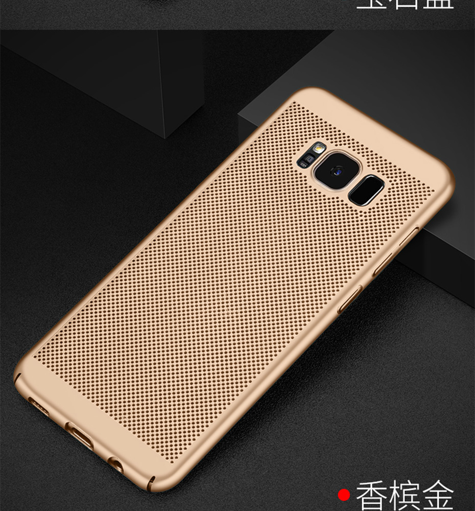 WST Ultra Slim Phone Case For Samsung Galaxy S8 S9 S7 S6 Plus S6 Edge Plus S8 S9 Plus S7 Case Hollow Heat Plastic Full Cover (25)