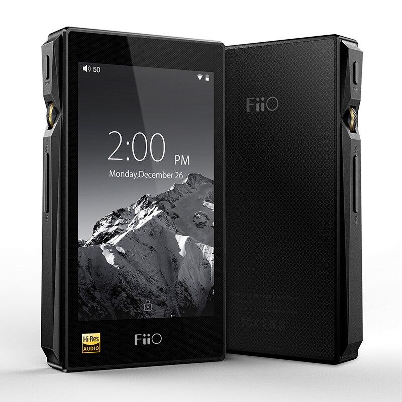 Fiio X5III basado en Android WiFi Bluetooth aptX doble AK4490 sin pérdida DSD reproductor de música portátil con 32G