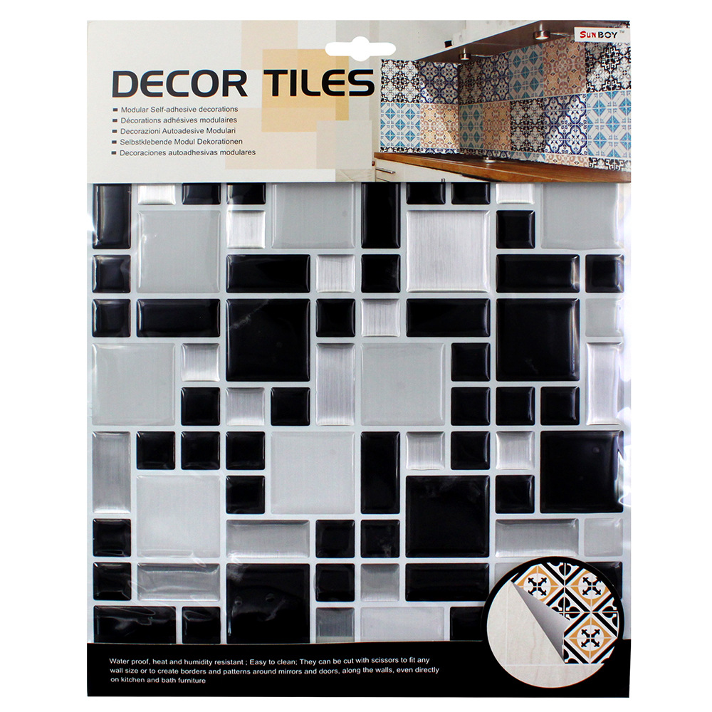 Kitchen bathroom special 3D wallpaper mosaic waterproof self adhesive tile wall stickers PVC tile stickers bathroom kitchen wallpaper home decor diy self adhesive tile stickers