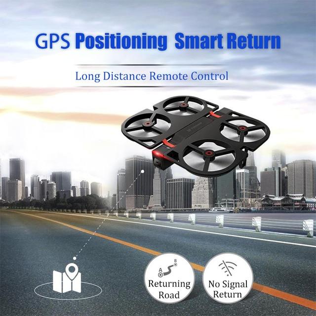 Funsnap iDol FPV RC Drone 4K GPS Quadrupter Professional Drone Camera HD 1080P AI Gesture