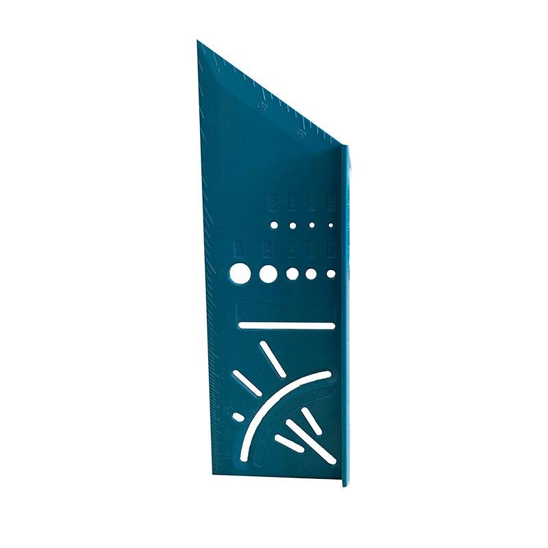 3D угол измерения квадратный деревообрабатывающий писец измерительная линейка измерительный инструмент с манометром и линейкой 1 шт