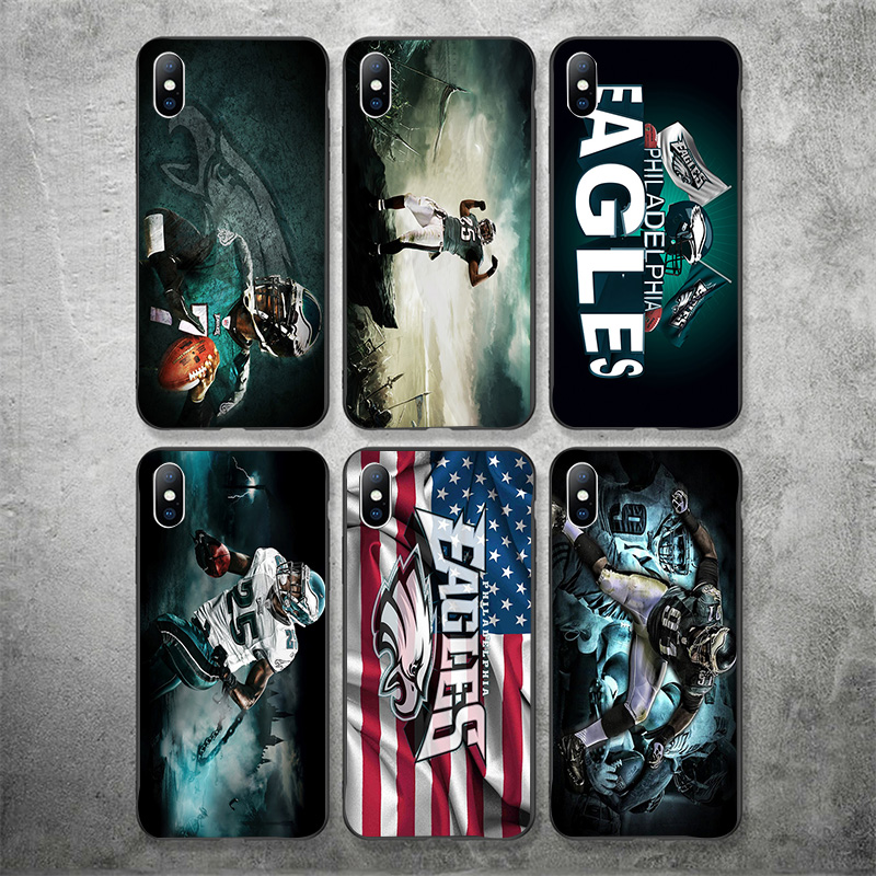 official photos 40622 99590 US $3.43 |Aliexpress.com : Buy Yinuoda Philadelphia Eagles Phone Case NFL  Carson Wentz For iPhone DIY Picture Soft TPU Cover X XR XS MAX 7 8 7plus 6  ...