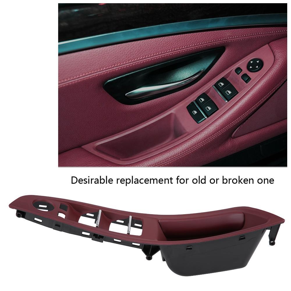 Front Left Door Window Control Switch Panel Trim For BMW F10 535i 550i 528i M5
