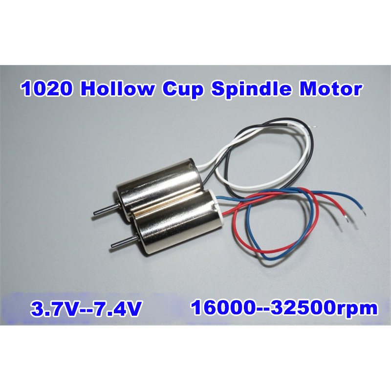 7.4V High Speed Large Torsion <font><b>1020</b></font> Model Hollow Cup Spindle <font><b>Motor</b></font> 32500rpm Nd-Fe-B magnetism For Micro 4 Axis Vehicle image