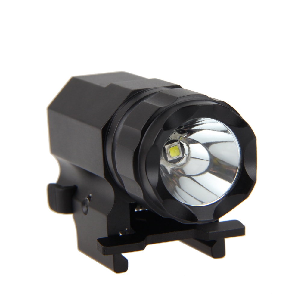 tactical 800lm r5 led gun scope rifle shotgun flashlight. Black Bedroom Furniture Sets. Home Design Ideas