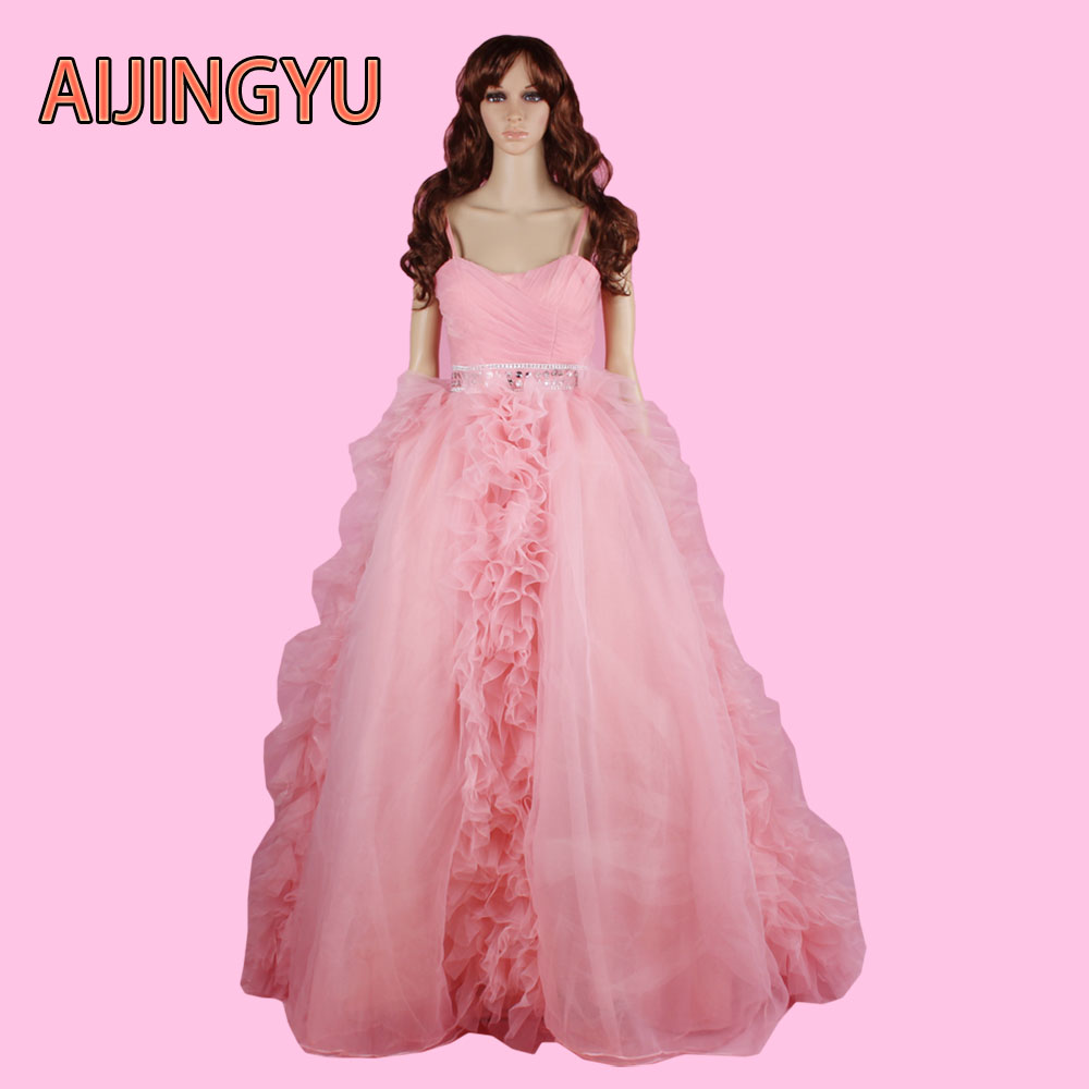 aijingyu 2017 new free shipping plus size country western wedding dresses cheap sexy women girl good wedding dress gown sy47