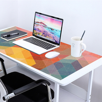 Alfombrilla de ratón de oficina grande de 90x40cm para Gaming, alfombra para ratón teclado, cojín para el escritorio de Anime para tableta, PC y Notebook