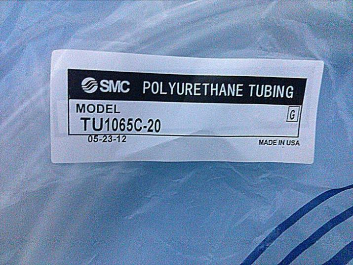 SMC pneumatic White air hose TU1065C-100 Inside diameter 6.5mm External diameter 10mm Hose length 100m smc pneumatic blue air hose tu1208bu 100 inside diameter 8mm external diameter 12mm hose length 100m