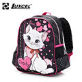 Luxcel school bags cartoon cindy cat children backpack for kids girls mochila infantil Cartoon Backpack First grade and Nursery