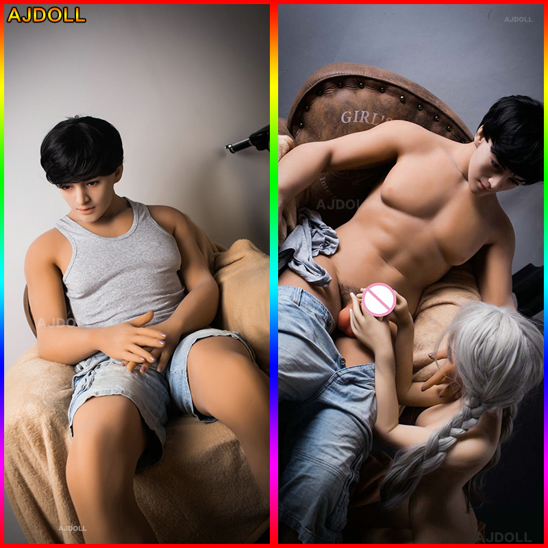 170cm Real Silicone Dolls for Gay Male Sex Doll Sex Gay Doll with Huge Penis Full