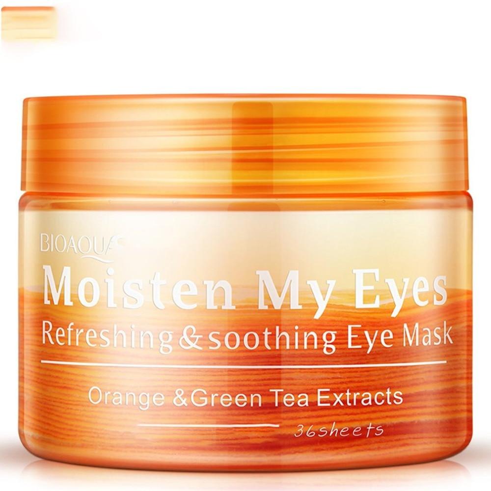 Tempat Jual Buy 1 Get Golden Eyes Mask Masker Mata Crystal Bioaqua Panda Hitam Eye Red Ginseng Gel Patches For The Skin Care Collagen