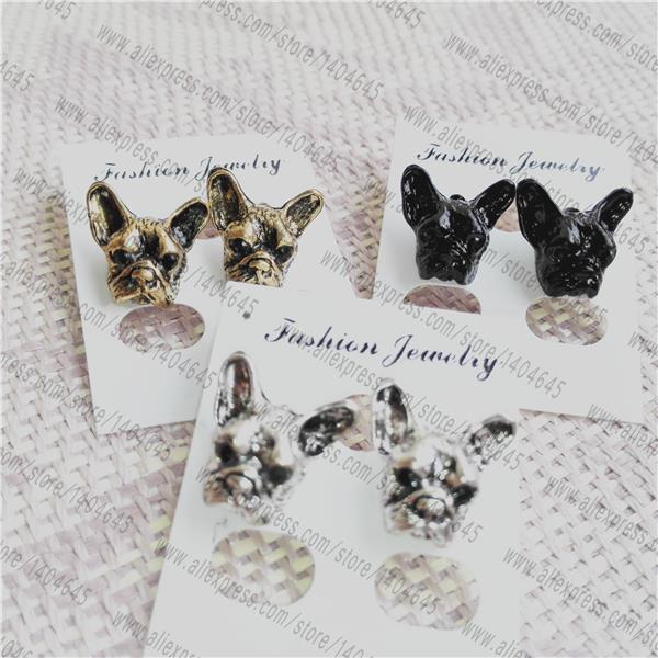 French Bulldog Earrings Bull Animal Earrings Bulldog Jewelry ...