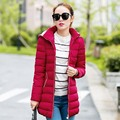 Long Womens Winter Jackets And Coats 2016 Thick Warm Women Parka Women's Winter Jacket Female Down Cotton Manteau Femme