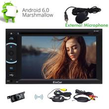 Wireless Camera! Eincar Android 6.0 2Din GPS Car Stereo Navigation Autoradio Bluetooth WIFI Radio USB SD Extenal Micro Included!