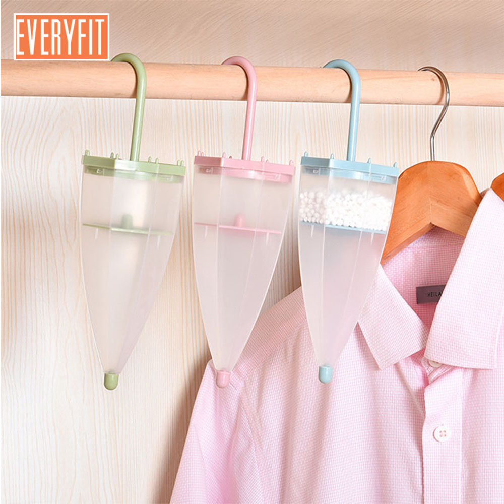 Dropshipping 2018 Umbrella Type Hanging Wardrobe,Hanging Moisture-proof Agent,Anti-Mold Desiccant With Dehumidification Package