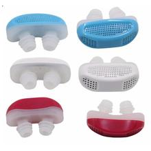 Beauty Health - Health Care - 2pcs/set Mini Anti Snore Silicone Sleeping Aid Mini Device Anti-Snore Relieve Effectively Nose Breathing Stop Snoring Tool C3
