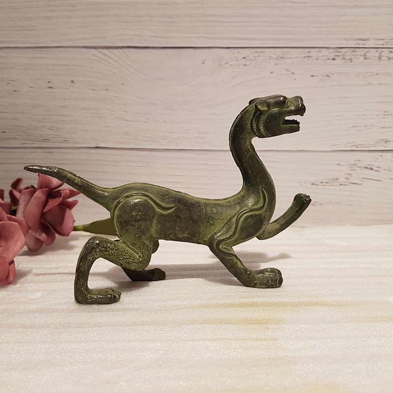 Antique bronze four-beast beast (4)