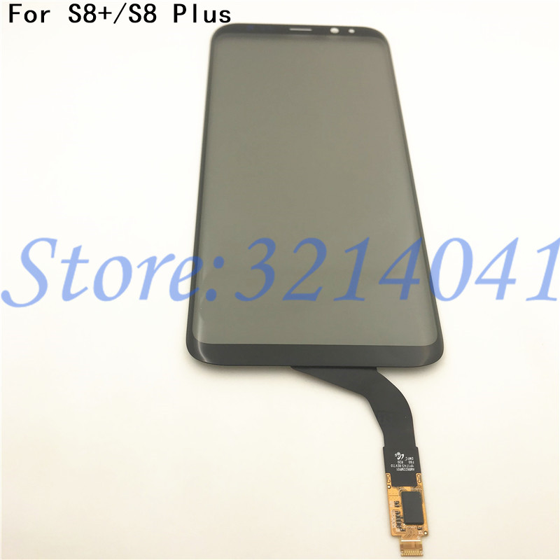 Original 6.2 Inches Touch Screen For Samsung Galaxy S8 Plus G955 G955F Touch Screen Digitizer Sensor Repair Parts