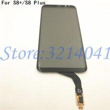 Orijinal 6.2 inç Dokunmatik ekran Samsung Galaxy S8 artı G955 G955F dokunmatik ekran digitizer Sensörü Onarım parçaları