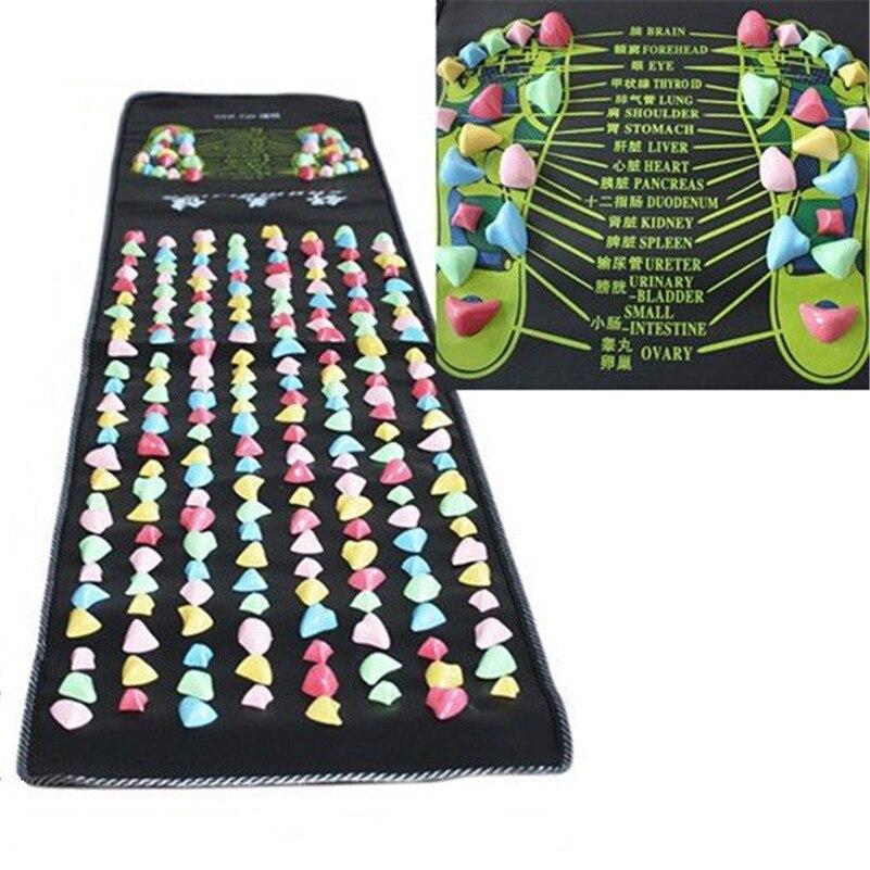 1pcs 170cm X35cm Walk Stone Foot Massage Mat Reflexology
