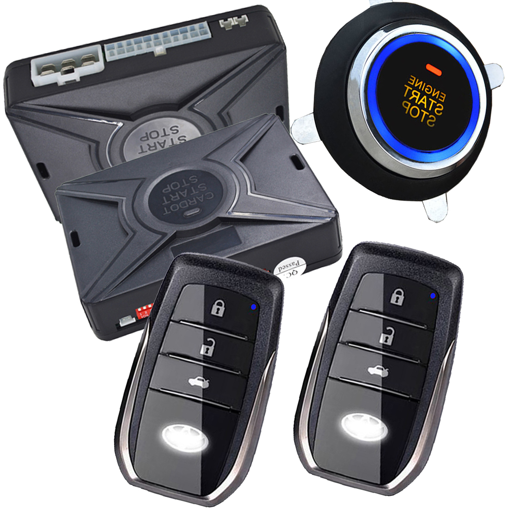 car remote keyless entry with remote start feature push button start stop system passwords emergency unlock central car door easyguard pke car alarm system remote engine start stop shock sensor push button start stop window rise up automatically