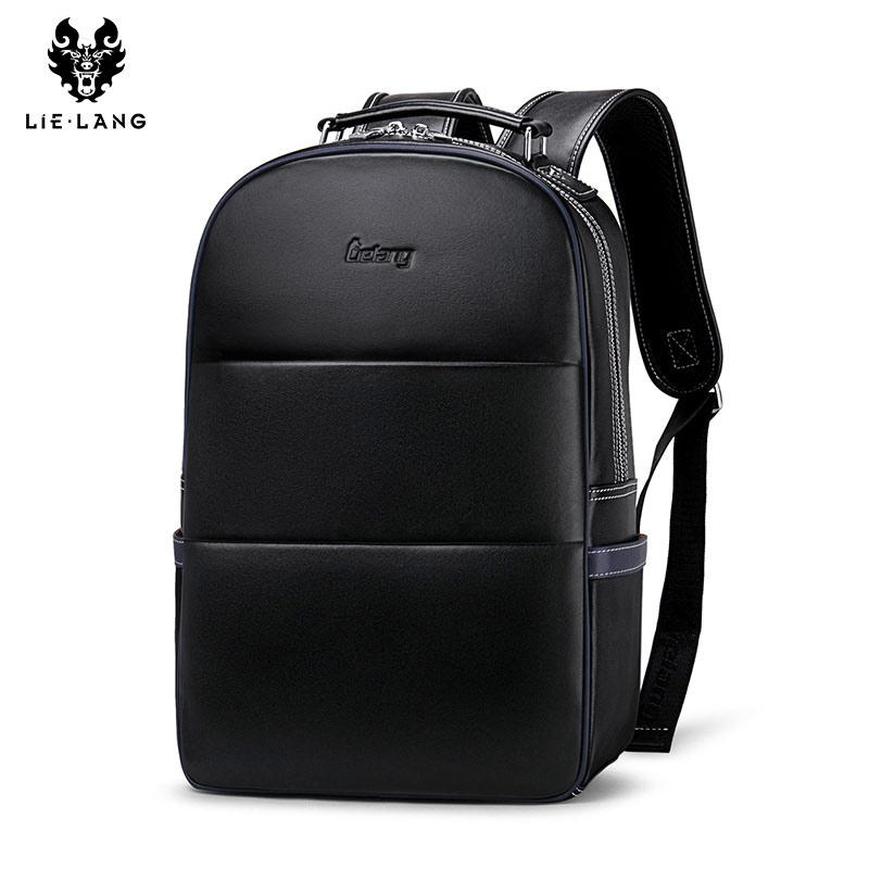 LIELANG Backpack Men Bag School Computer-Bag Men's Fashion Youth Suede