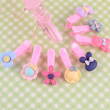 30pcs/set Snap Hair Clips 3cm Craft Water Drop Shaped Handmade DIY Accessories for Kid Toddler Girl Hairgrip Clip