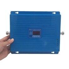 Répéteur à trois bandes 2g 3g 4g LTE répéteur à trois bandes 900 1800 2100 MHz GSM DCS WCDMA amplificateur de signal de téléphone portable amplificateur de téléphone portable