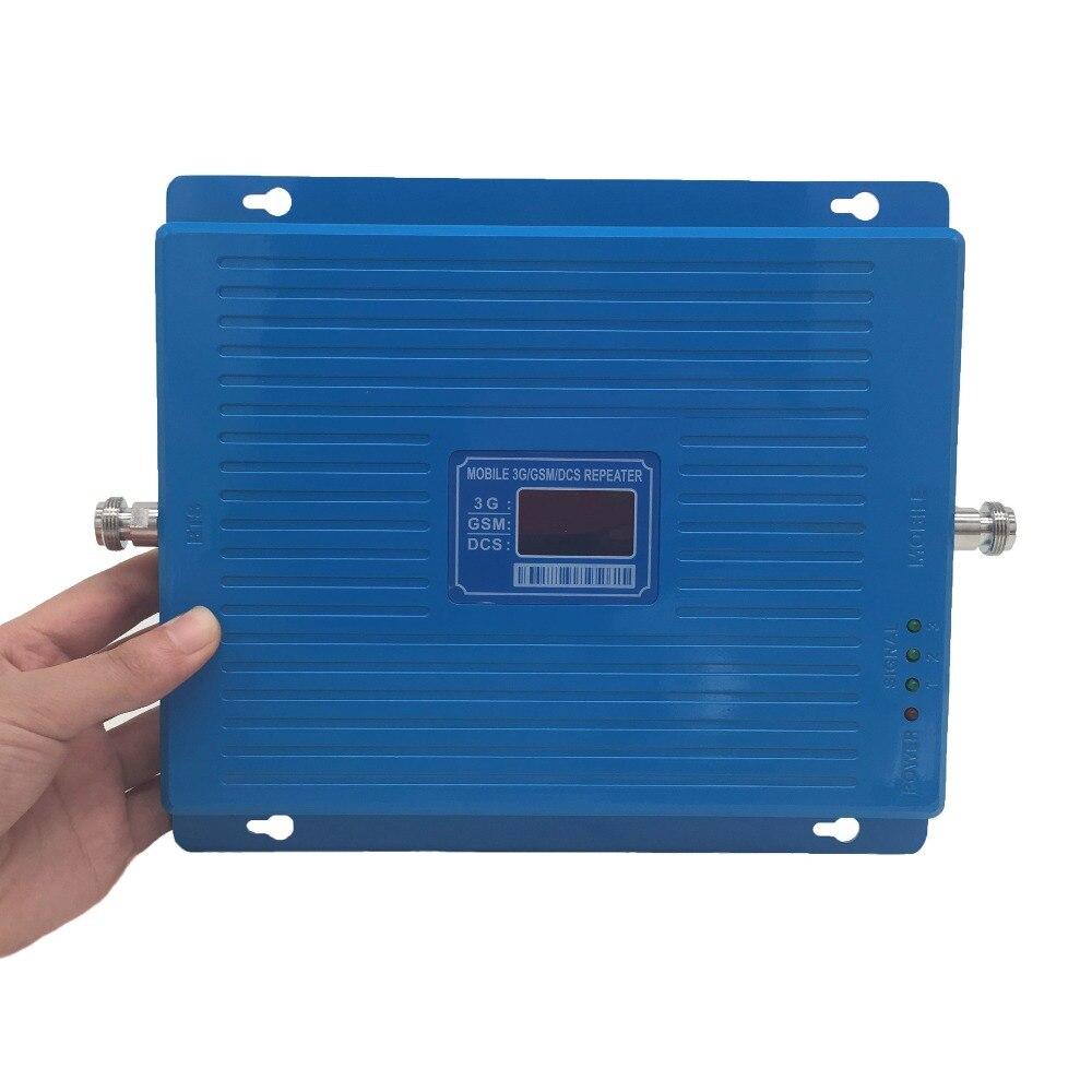 Tri band ripetitore 2g 3g 4g LTE TriBand ripetitore 900 1800 2100 MHz GSM DCS WCDMA cellulare ripetitore del segnale del Telefono Cellulare amplificatore-in Ripetitori di segnale da Cellulari e telecomunicazioni su  Gruppo 1