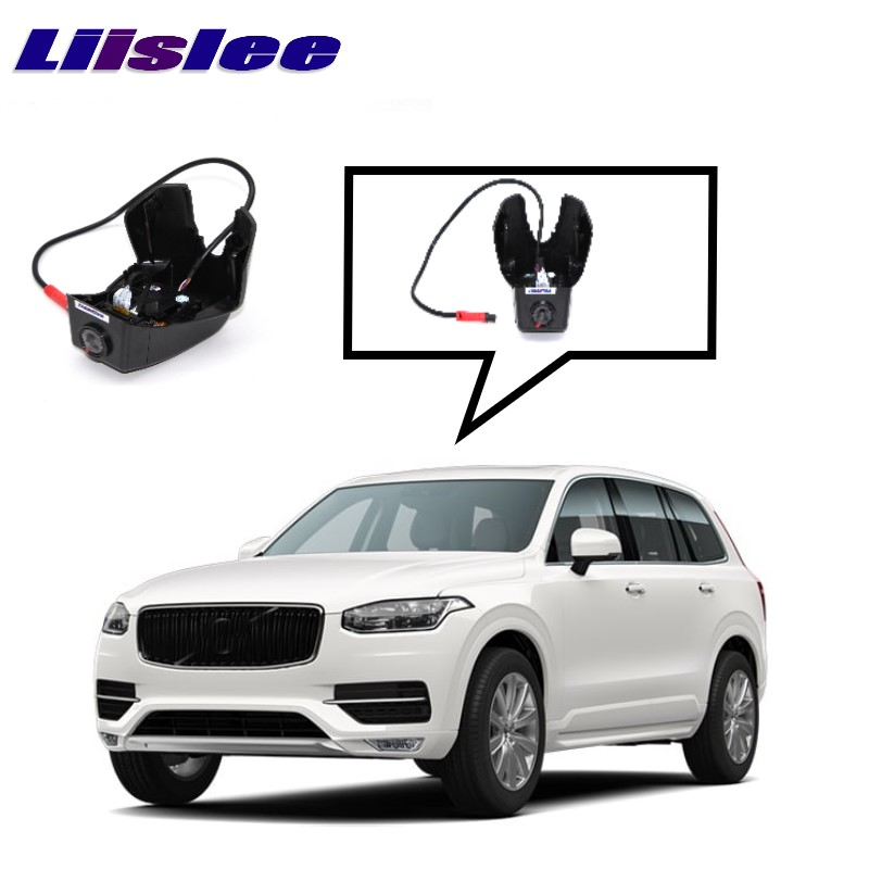 LiisLee Car Black Box WiFi DVR Dash Camera Driving Video Recorder For VOLVO XC90 2014~2017 for vw eos car driving video recorder dvr mini control app wifi camera black box registrator dash cam original style