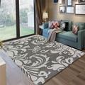 Скандинавский стиль серые серии абстрактные цветочные художественные ковры для гостиной спальни коврики Противоскользящие коврики модны...