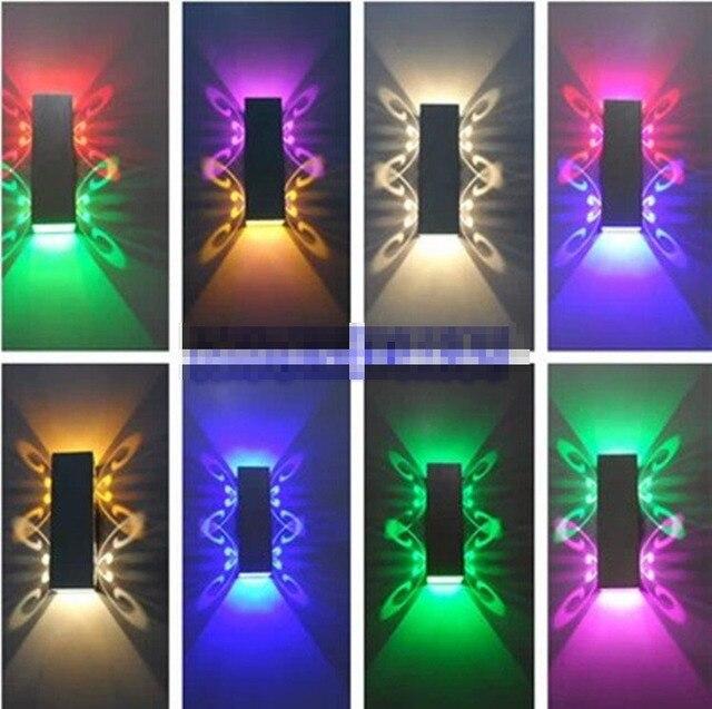6 Watt LED Dimmbar Aluminium Kleine Wandleuchte Silber Schlafzimmer Wohnzimmer Beleuchtung Fr Zuhause