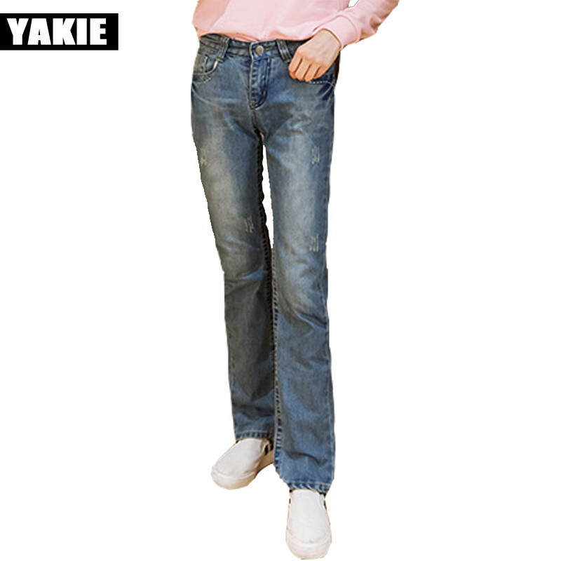 Special Offer Vintage Hole Jeans Women Casual Mid Waist Retro Ripped straight loose  Boyfriend Jeans Denim Pants Female Trousers summer casual women jeans high waist big hole ankle length ripped loose straight pants women denim trousers edge curl vintage