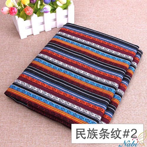 Nabi hot ,polyester/cotton fabric ,ethnic ,decorative fabrics for sofa cover,cushion,cloths, curtains,sale for meter, width